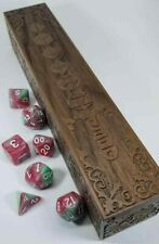 Warlord Wooden Dice Tray RPG DnD Dungeons Dragons Pathfinder d20