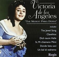 CD VICTORIA DE LOS ANGELES MODEST PRIMA DONNA MOZART WAGNER GOUNOD PUCCINI