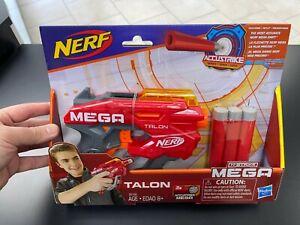 Nerf Mega Talon Blaster -- New Includes 3 Official AccuStrike Nerf Mega Darts