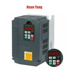 New Variable Frequency Drive Inverter Vfd 75kw 10hp 220v Single To 3 Phase Usa
