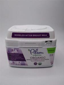 Plum Organic Infant Formula with Iron 21 oz