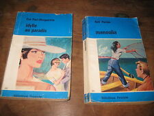 Lot de 2 Livres de poche Collection Bibliothèque PERVENCHE n° 245 et 267