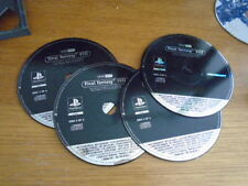 pour ps1 final fantasy VIII 4 CD PROMO RARE