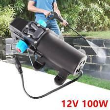 100W Electric High Pressure Self-priming Diaphragm Water 160psi Pump 12V 8L/min