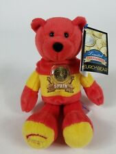 Retired Stuffed Plush Collectible Spain Euro Coin Bear Limited Treasures 2002