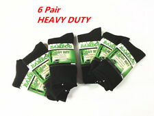 6 Pair MEN MENS Thick Bamboo Work Socks Heavy Duty CUSHION Bulk NEW Size 6-11