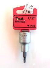Teng Tools M121220T-C con 1,3 cm Drive 117400101 Punta A Bussola Torx TX20
