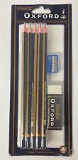 Helix Oxford Ejecutivo Companion Set 10 Lápices HB Sacapuntas Y Goma De Borrar