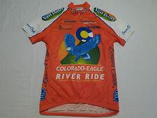 Womens Voler Colorado Eagle River Beaver Creek Raglan Bike Cycling Jersey Sz S