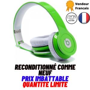 Casque Bluetooth Beats by Dr. Dre Solo HD Supra-Auriculaires Pliable Vert Pomme