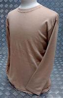 Genuine British Military Desert / Sand Long Sleeve Vest (FR) Base Layer - NEW