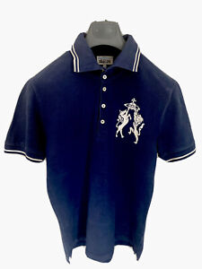 Vivienne Westwood Polo Shirt Chaos XXL Blue