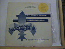 LOUISVILLE ORCHESTRA ROBERT WHITNEY FIRST EDITION RECORDS # LOU-565 ORREGO-SALAS