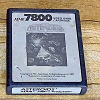 Atari 7800 Prosystem Asteroids 1987 Original Video Game Cartridge Only