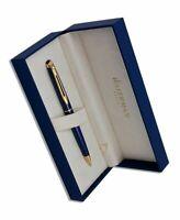 Waterman  Hemisphere Pencil  Blue Marble & Gold Trim  0.5mm New In Box