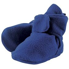 LUVABLE FRIENDS Baby Boy Blue Fleece Booties 0 - 6 Months BRAND NEW