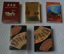 China Souvenir Playing Cards. Four decks unused - new condition - FREE SHIPPING