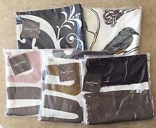 """NWT DWELLSTUDIO 100% LINEN DECORATIVE 12""""x23"""" PILLOW COVERS DOWN FEATHER INSERTS"""