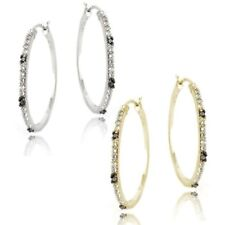 Hoop I2 Fine Diamond Earrings
