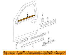 GM OEM Front Door Window Sweep-Belt Molding Weatherstrip Left 10388365
