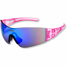 Lazer M1 Cycle Glasses, Pink frame, 3 lenses, Clear/ smoke-blue/ Yellow