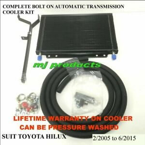 Toyota hilux kun26 automatic transmission oil cooler kit (large) long/true-co...