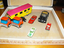 lotto polistil politoys mathbox mayorette  vintage cars toys