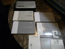 2008 Nissan Altima Owners Manual Guide Book  LOT IN CASE
