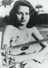 SOPHIA LOREN   PORTRAIT TV  1957 VINTAGE PHOTO