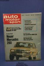 AMS Auto Motor Sport 10/76 BMW 320 Alpina Morgan MB 280E Chevy Blazer
