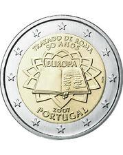 Portogallo 2007 - 2 euro Trattato di Roma COMMEM (UNC)