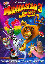 Madagascar 3: Europes Most Wanted (DVD, 2012) NEW