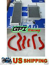 HONDA RVF400 NC35 NC30 VFR400 RVF/VFR 400 NC 35/30 aluminum Radiator and hose
