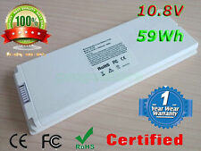"Laptop Battery For Apple MacBook 13"" inch A1181 A1185 MA561 MA566 WHITE MAC NEW"