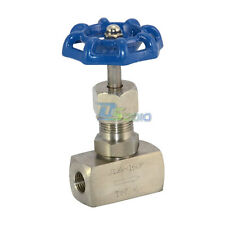 "1/4"" High Pressure Needle Valve Thread Female Stainless Steel 316 J13W 160P NPT"