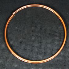 Kupferrohr weich 8mm x 1mm 1m Ring / geglüht