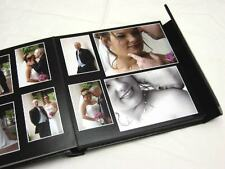 10x10 black Self Mount Wedding Photo Album - 30 page (Personalization Available)