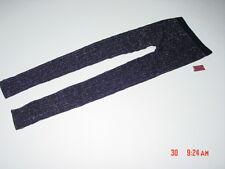 NWOT NWT Junior Girls Womens Leggings Warm Black Cute Trendy Metallic Sweater