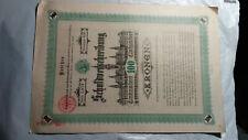 AUSTRIA PAIR OF 1892 NINETY YEAR 4% DEBENTURE BOND CERTIFICATES