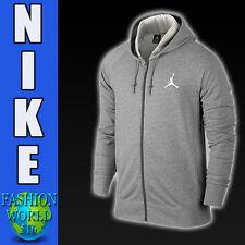 Nike Men's Size Large Jordan Lite Full-Zip Hoodie  724499-063 Grey Hoody