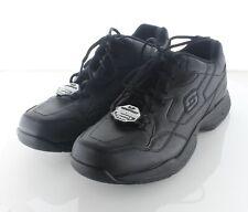 20-49 NEW $65 Men's Sz 9.5 M Skechers Felton Faux Leather Slip Resistant Sneaker