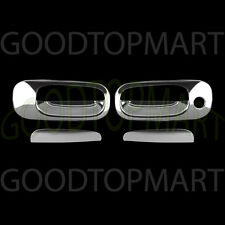 FOR DODGE CHALLENGER 08-10 CHROME 2 DOORS HANDLES COVERS W/OUT PASSENGER KH