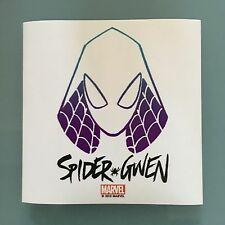 """Marvel Spider-Gwen 3"""" x 3"""" Promo Sticker New and Unused Spiderman"""
