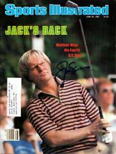 Jack Nicklaus Certified Authentic Autographed Signed Magazine PSA/DNA COA G54012