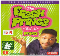 COFFRET DVD SERIE : LE PRINCE DE BEL-AIR : INTEGRALE SAISONS 1 A 6 - WILL SMITH