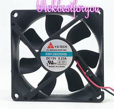 Y.S.TECH KM128025HB inverter Axial fan DC12V 0.23A 80*80*25MM 2pin #ME72 QL
