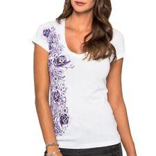 Cotton V Neck Floral Regular Size T-Shirts for Women