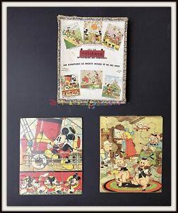 ⭐ Mickey Mouse Disney VERA PUZZLE - France 1935 - DISNEYANA.IT ⭐