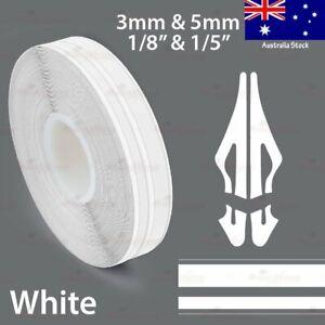 "9/16"" Vinyl Pinstriping PinStripe Car Body Styling Twin Tape Sticker 15mm WHITE"