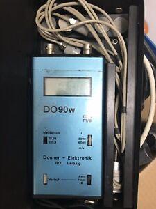 Ultraschall-Wanddickenmessgerät DO90w Donner Elektronik